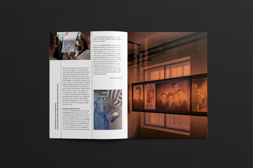 Daniela Wiesemann KZ-Gedenkstätte Flossenbürg / Corporate Design